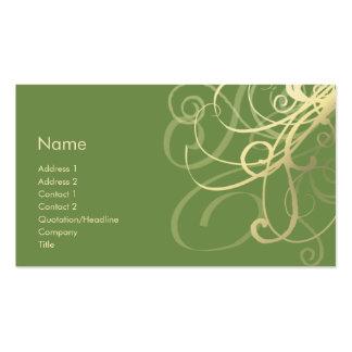 Swirls No. 0018 Business Card Templates
