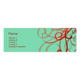 Swirls No. 0024 Business Cards