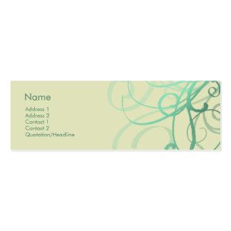 Swirls No. 0027 Business Card Templates