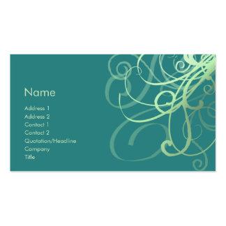Swirls No. 0032 Business Cards