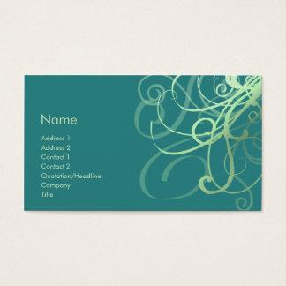 Swirls No. 0032 Business Card