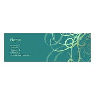 Swirls No. 0032 Business Card Template