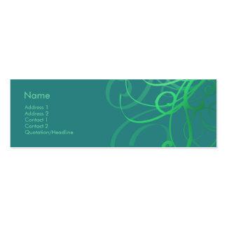 Swirls No. 0033 Business Card Templates