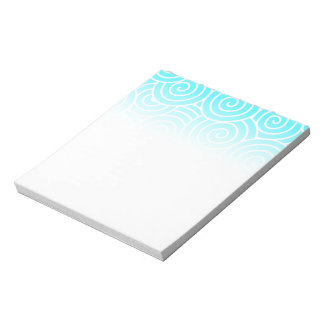 Swirls Notepad