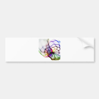 Swirls of Colors Bumper Sticker