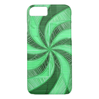 Swirls of Green iPhone 8/7 Case