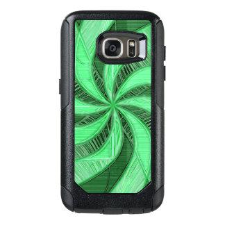 Swirls of Green OtterBox Samsung Galaxy S7 Case