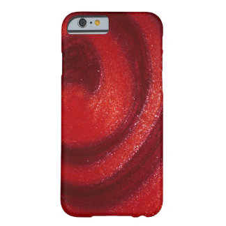 Swirls of nail polish barely there iPhone 6 case