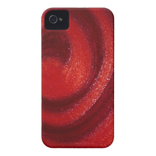 Swirls of nail polish iPhone 4 Case-Mate cases