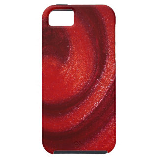Swirls of nail polish iPhone 5 cases