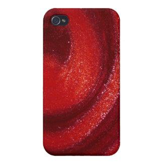Swirls of nail polish iPhone 4/4S cases