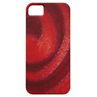 Swirls of nail polish iPhone 5 covers