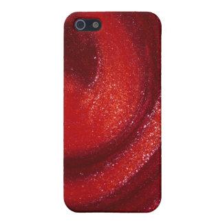 Swirls of nail polish iPhone 5 cover