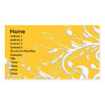 Swirls of Nature Business Card Templates