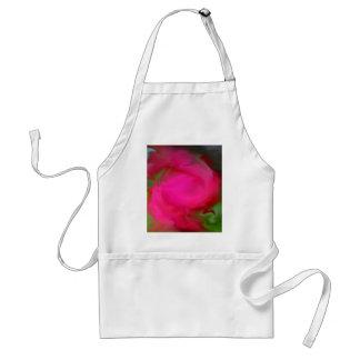 Swirls of Rose Standard Apron