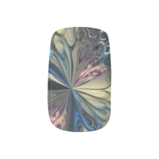 Swirls Pectrum Minx Nail Art