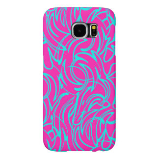 Swirls Samsung Galaxy S6 Cases