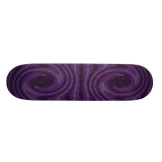 swirls skate board deck