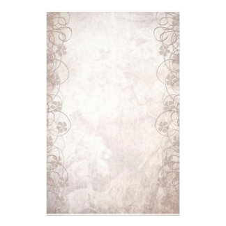 Swirly Antiqued Style Stationery Paper