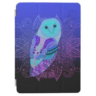 Swirly Barn Owl iPad Air Cover