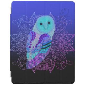 Swirly Barn Owl iPad Cover