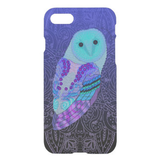 Swirly Barn Owl iPhone 8/7 Case