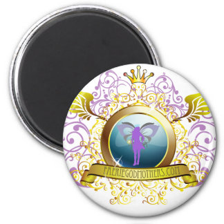 Swirly Blazon Faerie Godmother Magnets