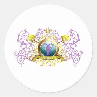 Swirly Blazon Faerie Godmother Stickers