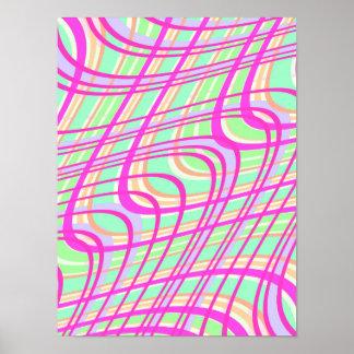 Swirly Check 2011 Poster