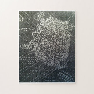 Swirly, Curly, and Metallic Puzzle