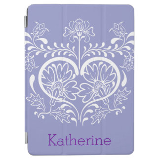 Swirly Flower Design iPad Air Cover