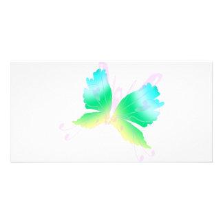 Swirly Fly III Photo Card