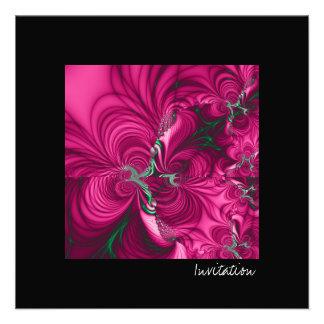 Swirly · Fractal Art · Pink Green Announcement