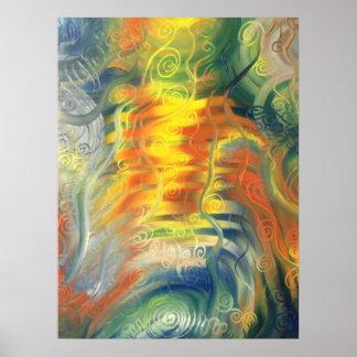 Swirly fun posters