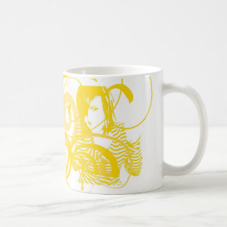 swirly girl coffee mug