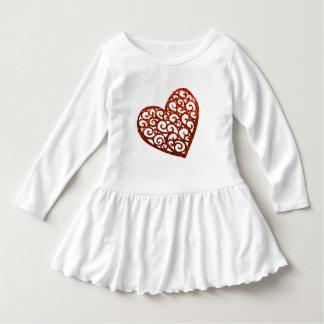 Swirly Hearts Dress