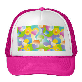Swirly Hearts Hat
