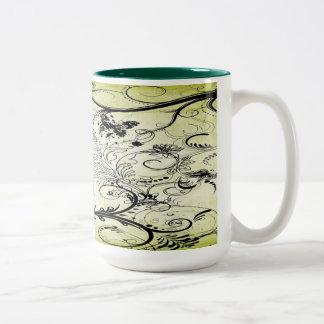 Swirly Leaf Vines Mugs Mug