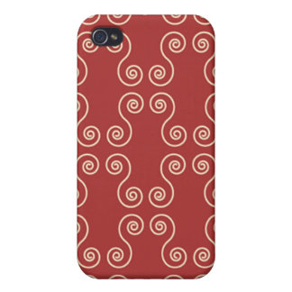 Swirly lines iphone Case Case For iPhone 4