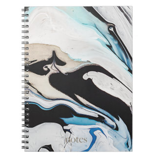 Swirly Marble Notebook