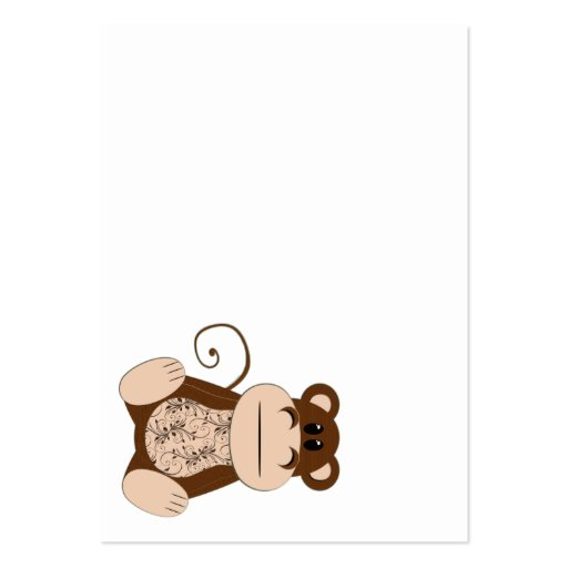 Swirly Monkey Business Card