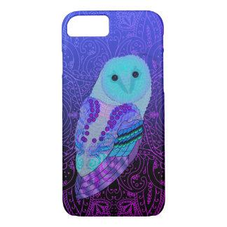 Swirly Owl iPhone 7 Case
