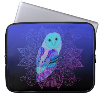 Swirly Owl Laptop Sleeves