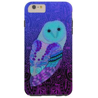 Swirly Owl Tough iPhone 6 Plus Case