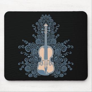 Swirly Violin Mouse Mat