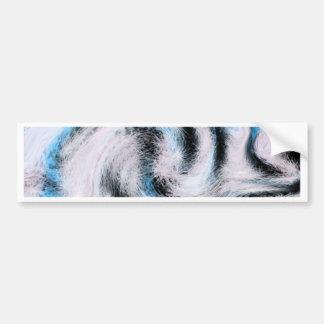 Swirly Whirly Design By, Megan Eller Bumper Sticker