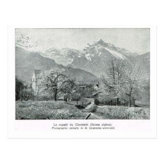 Swiss Alpine, Glenisch Postcard
