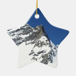 SWISS ALPS CHRISTMAS ORNAMENT