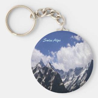 Swiss-Alps keychain