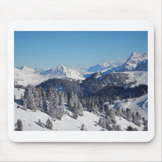 Swiss Alps Mouse Pad